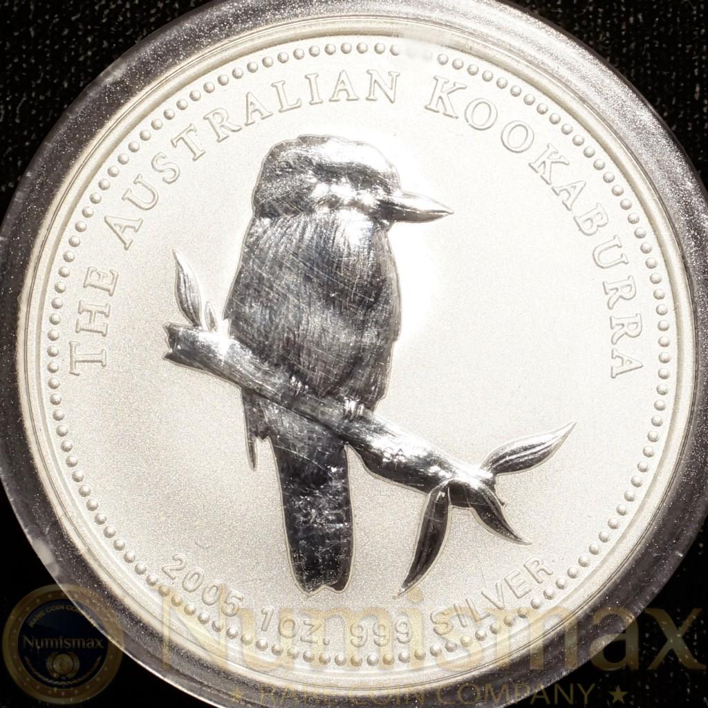 2005 Australian $1 Kookaburra Silver