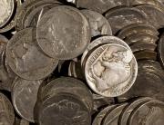 1928 Buffalo Nickels |P-D-S | 78-Nickel Lot