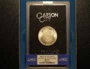 1880/79 Carson City GSA Morgan Dollar Top-100 VAM-4 REV of 78 NGC MS63+