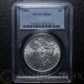 1900 Philadelphia Morgan Silver Dollar | PCGS MS62