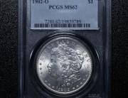 1902 New Orleans Morgan Silver Dollar | PCGS MS62