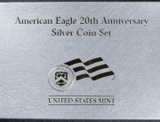 2006 Silver American Eagle 20th Anniversary   PACKAGING ONLY