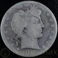 1894 San Francisco Silver Barber Half Dollar1894 San Francisco Silver Barber Half Dollar