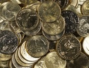 Gold Plated U.S. Coins   $33 Face Value