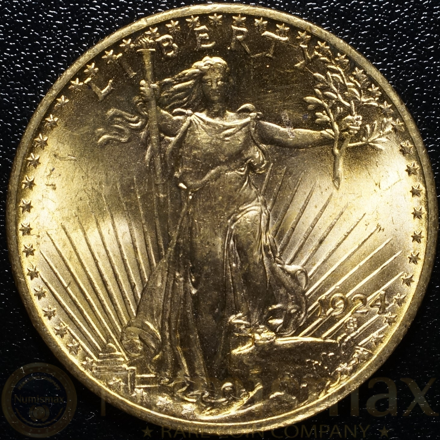 1924 philadelphia st gaudens 20 gold double eagle. Black Bedroom Furniture Sets. Home Design Ideas