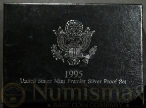 1995 U.S. Mint Premier Silver Proof Set