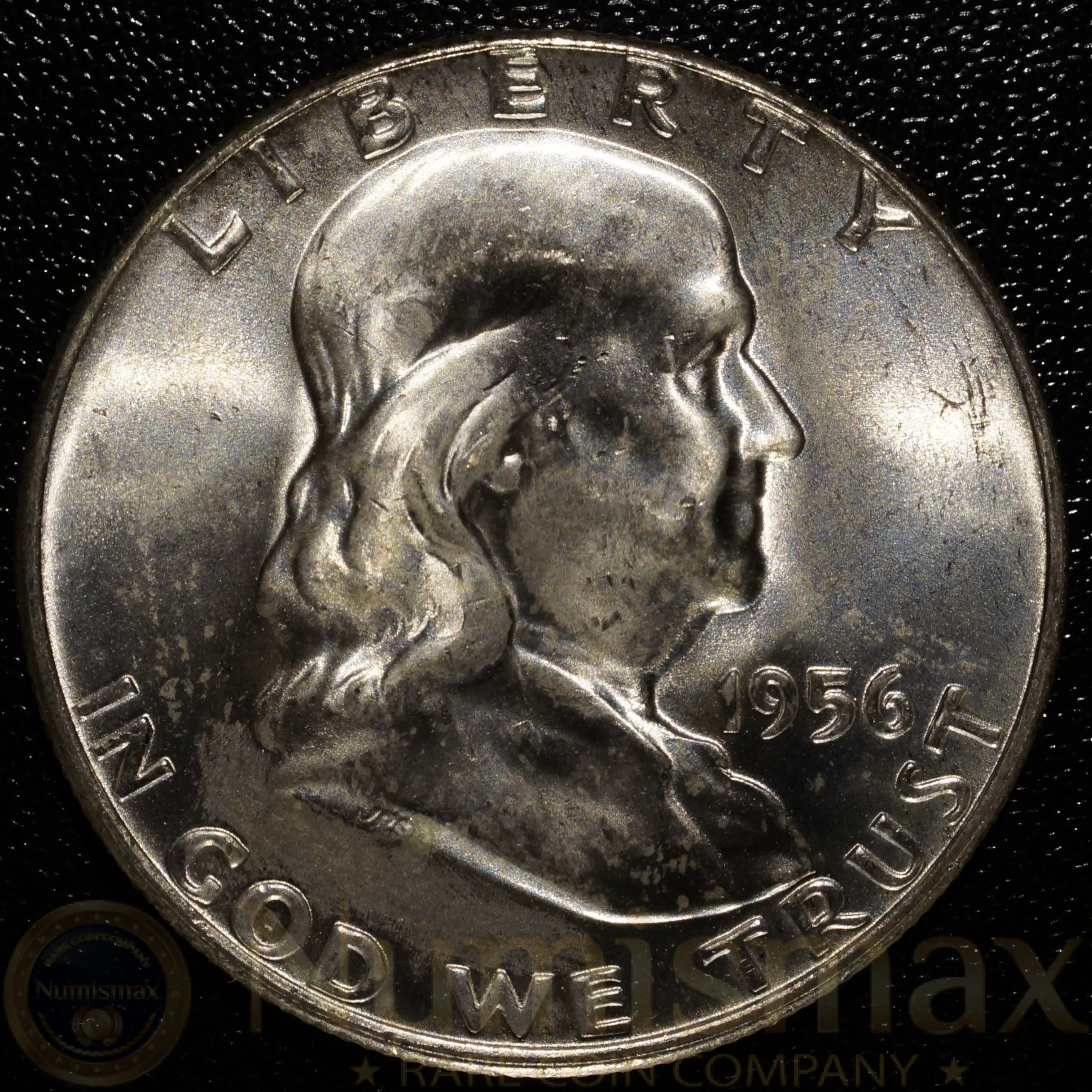 1956 Philadelphia Silver Franklin Half Dollar