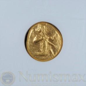 450 BC Persia - Sardies in Lydia Gold Daric | NGC AU