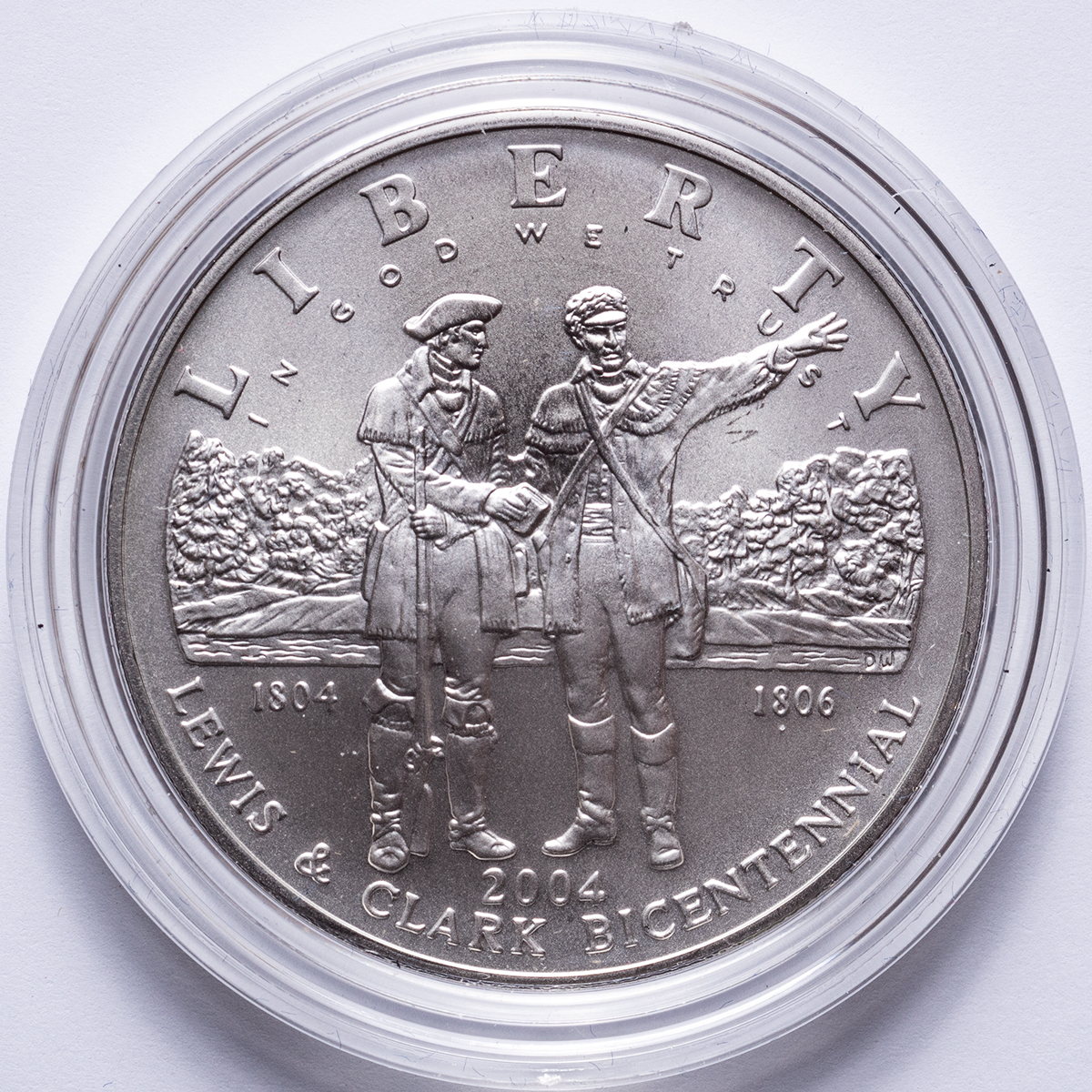 lewis and clark commemorative coin