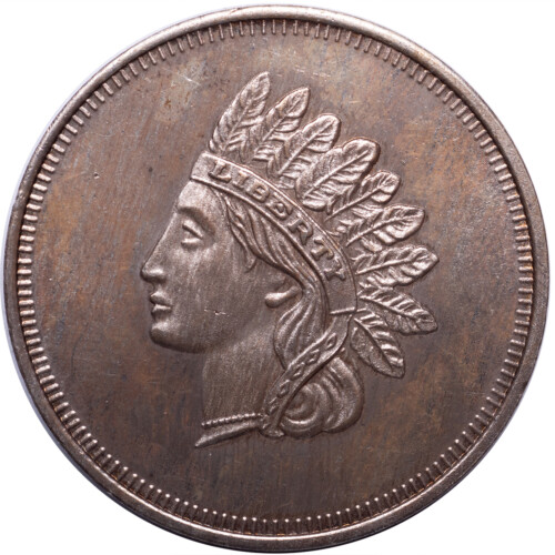 Silver Bullion Round Indian One Troy Ounce 999 Fine